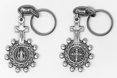 St Benedict Rosary Key Ring.