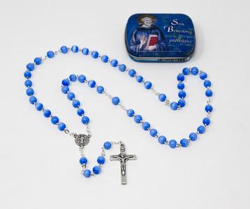 St Benedict Blue Rosary.