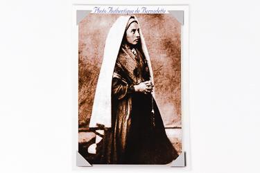 St Bernadette photo 1862.