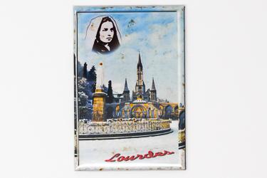 St Bernadette Portrait Magnet