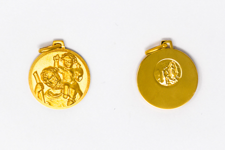 St. Christopher Medal for a Man.