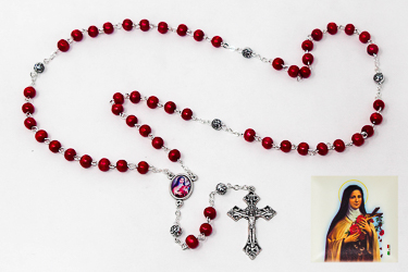 St Theresa�Rosary Beads.