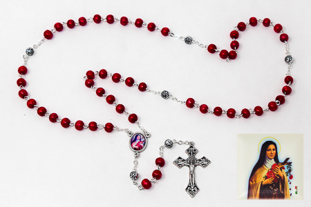 St Theresa�Rosary Beads.