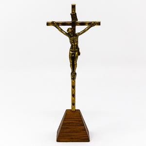 Standing Metal Crucifix.