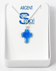 4 Way Miraculous Medal Necklace.
