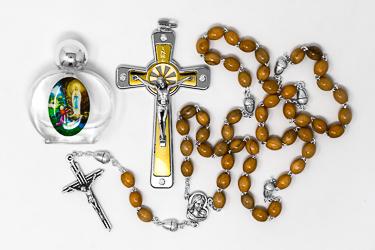 Acorn Rosary�Gift Set.
