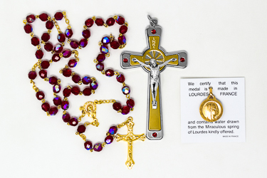 Swarovski Cross and Rosary�Gift Set.