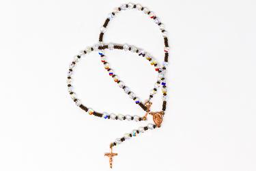 Swarovski Rosary Necklace.