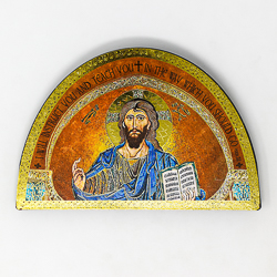Teaching Christ Wall Plaque.