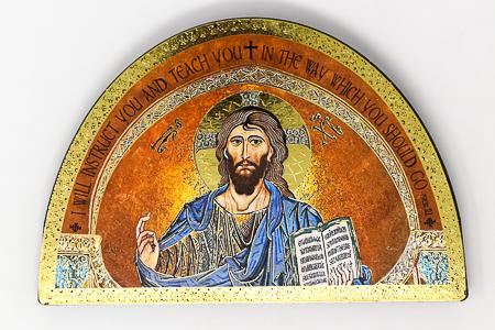 Teaching Christ Wall Plaque.