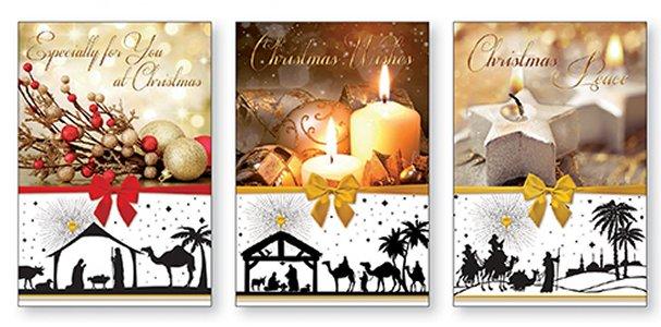 Trócaire Candle Christmas Cards.