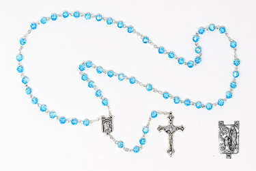 Turquoise Rosary.