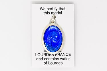 Virgin Mary Lourdes Water Pendant.