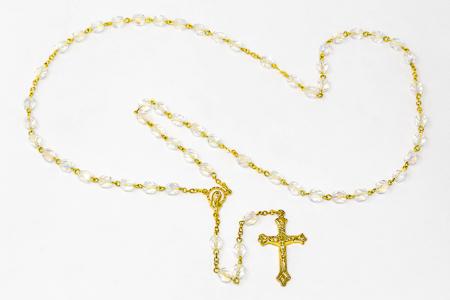 Virgin Mary Rosary Beads.