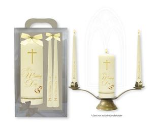 Wedding Candles with Gift Box.