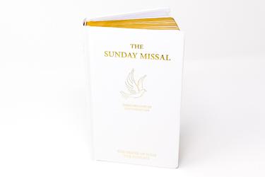 White Confirmation Roman Missal.