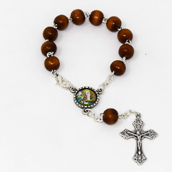 Wooden Car Rosary.