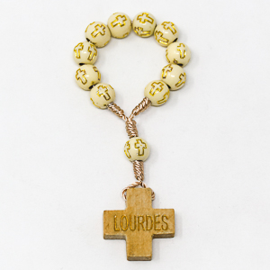 Wooden Rosary Ring.