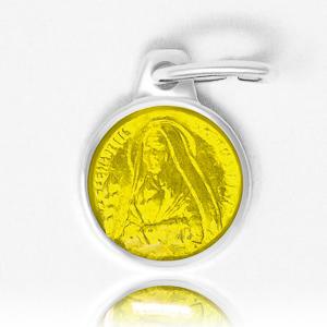 Yellow Bernadette Medal.