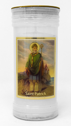 St. Patrick Candle