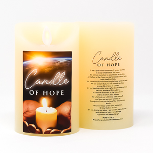 Pope Francis Candle of Hope.