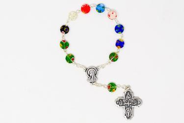 One Decade Murano Rosary