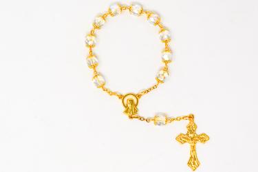 Virgin Mary Single Decade Rosary.