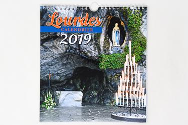 Lourdes Official Calendar 2019.