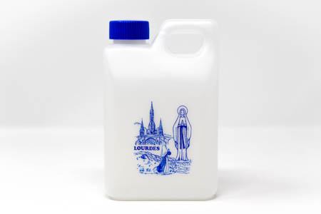 Large Apparition Lourdes Water Bottle