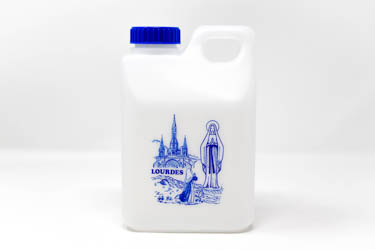 1 litre of Lourdes Water.