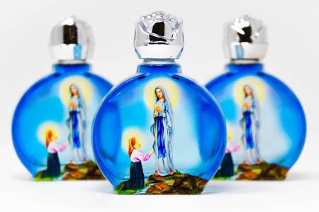 Holy Water Bottles.