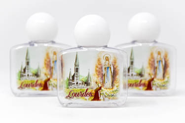 Apparition Lourdes Water Bottle.
