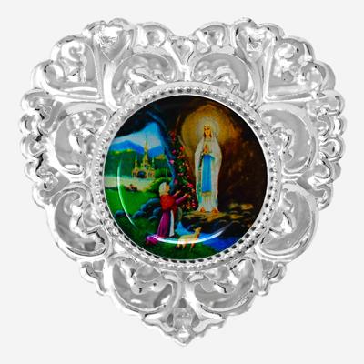 Heart Shaped Rosary Box.