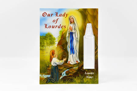 Our Lady of Lourdes Water Vial.