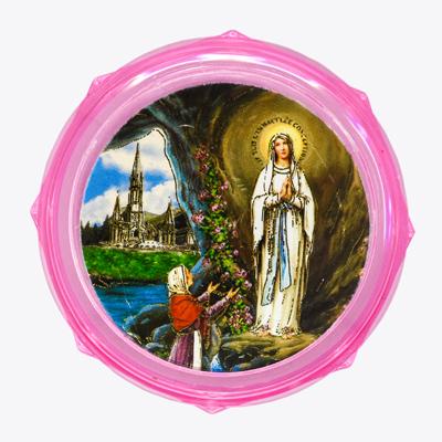 Pink Rosary Box