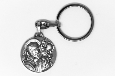St Christopher Rosary Key Ring.