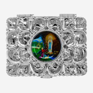 Lourdes Rosary Box