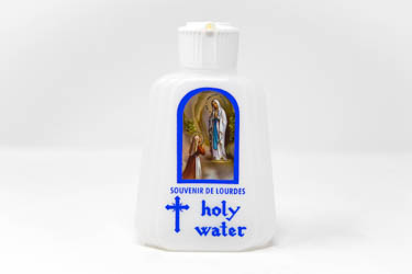 Lourdes Holy Water Bottle