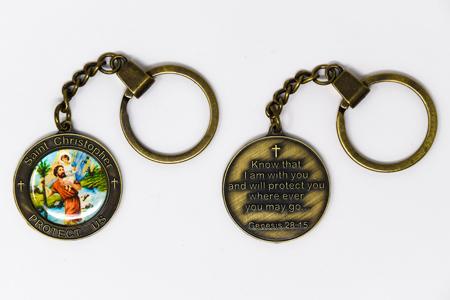 St. Patrick Key Ring.