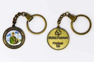 St. Patrick Key Ring.