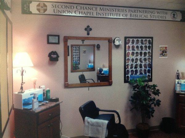 Barber Skills Training Shop - March 2012