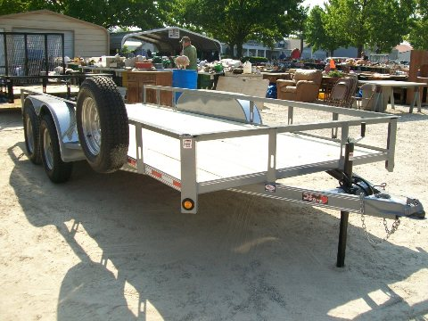 New 2020 16ft Tandem Axle Trailer