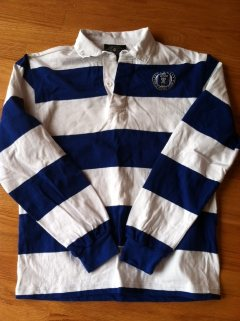 Charles River Royal Blue and White Rugby