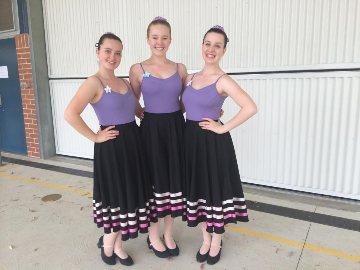 Barker Dance uniform (optional)