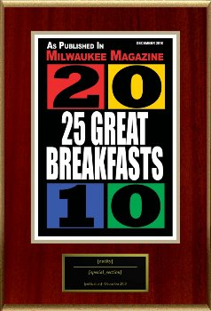 Milwaukee Magazine's 25 Great Breakfasts (Dec 2010)