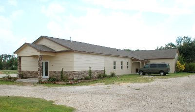 Anahuac: Oak Island Baptist Church