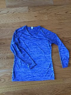 Mystx Travel Uniform Warm-Up Top - Ladies Vintage Dry-Tek L/S