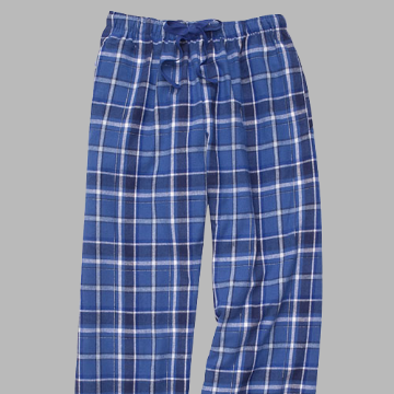 NEW! Royal Sparkle Flannel Pant
