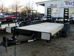 New 2020 Heartland 16ft Tandem Axle Flatbed Trailer