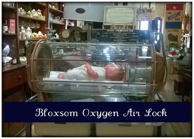 bloxsom oxygen air lock antique medical equipment
